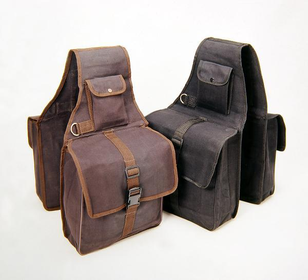 Tough-1 Canvas Saddle Bag