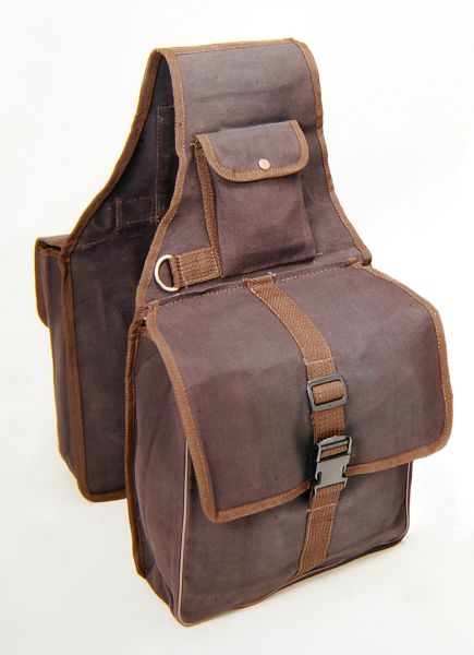 Tough-1 Canvas Saddle Bag