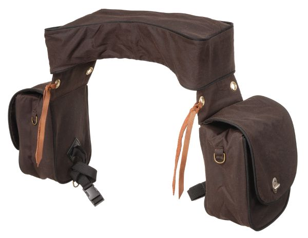 Oiled & Insulated Deluxe Trail Saddle Bag