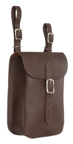 Tough-1 English/Aussie Leather Saddle Bag