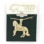 Finishing Touch Paso Fino Pendant Necklace