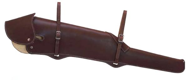 Weaver Heavy-Duty Fleece-Lined Gun Scabbard with Flap