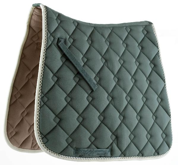 ROMA ECOLE Double-Diamond Dressage Saddle Pad