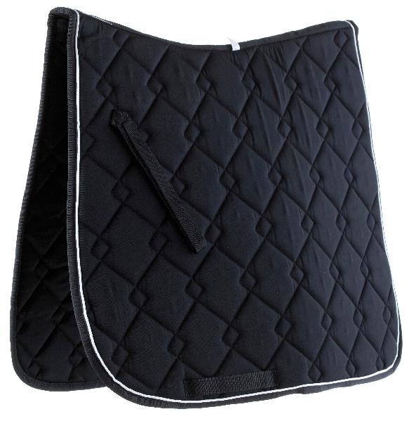 Roma Fancy Diamond Quilt Dressage Saddle Pad