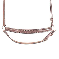 Courbette Raised Dropped Noseband