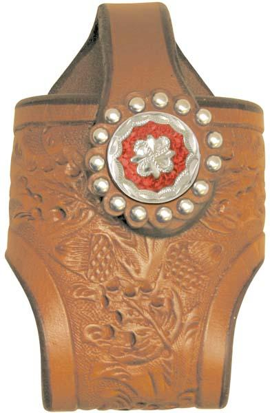 Abetta Oakleaf Tooled Cell Holder