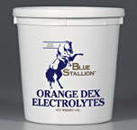 Blue Stallion Orange Dex Electrolytes