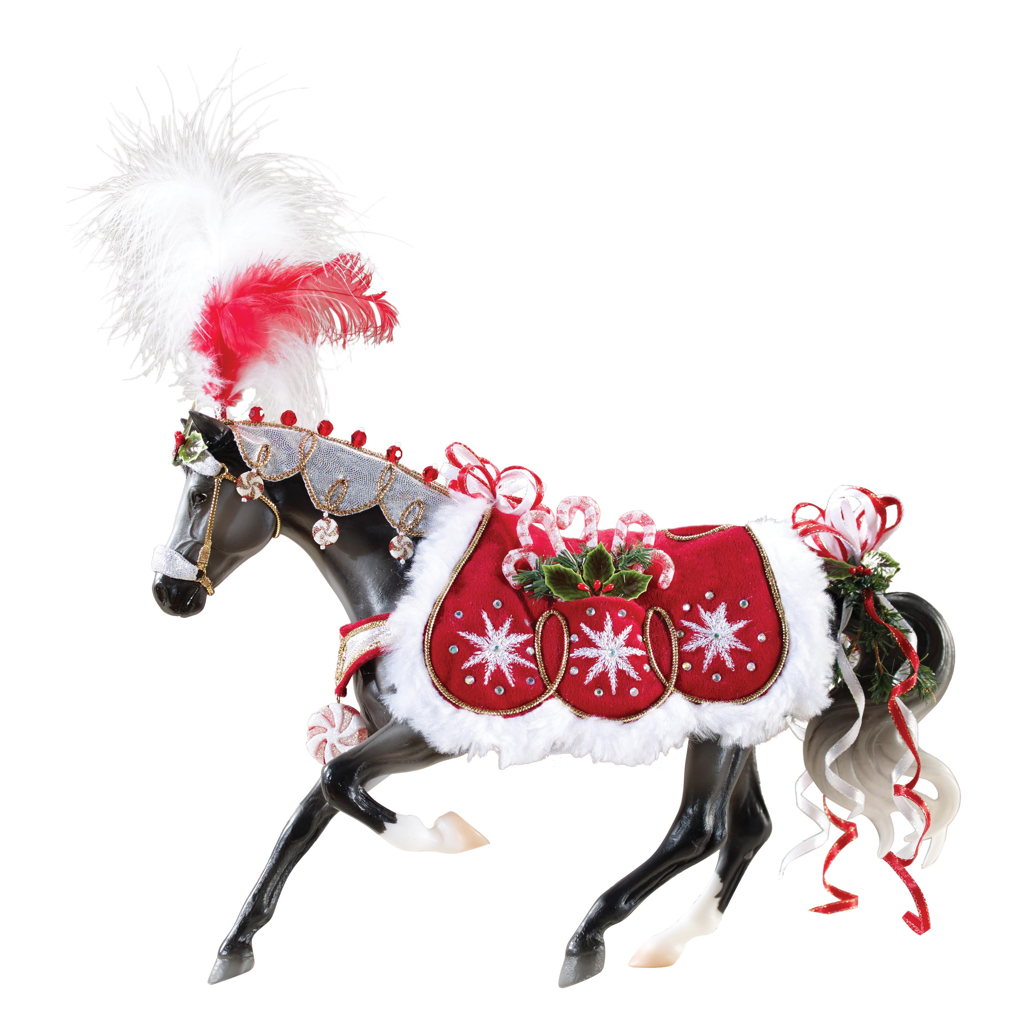 Breyer Peppermint Kiss 2015 Holiday Horse