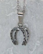 Finishing Touch Double Horseshoe Pendant