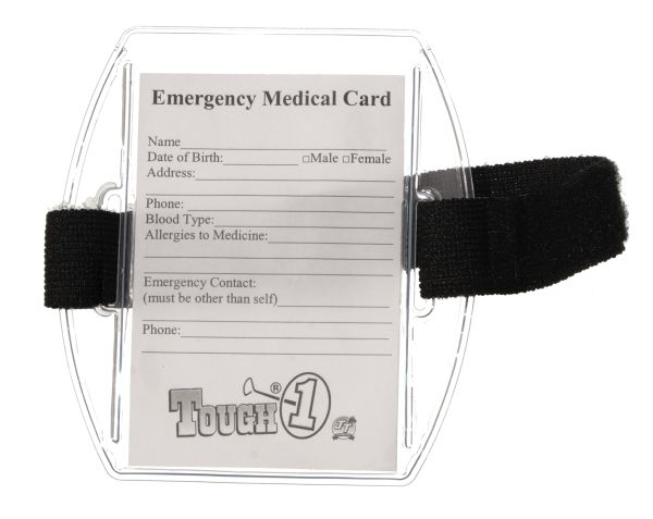 Emergency Medical Arm Band