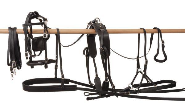Tracker Leather Pony Harness