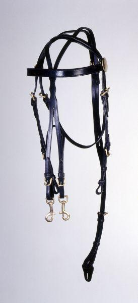 Tough-1 Overcheck Training Bridle