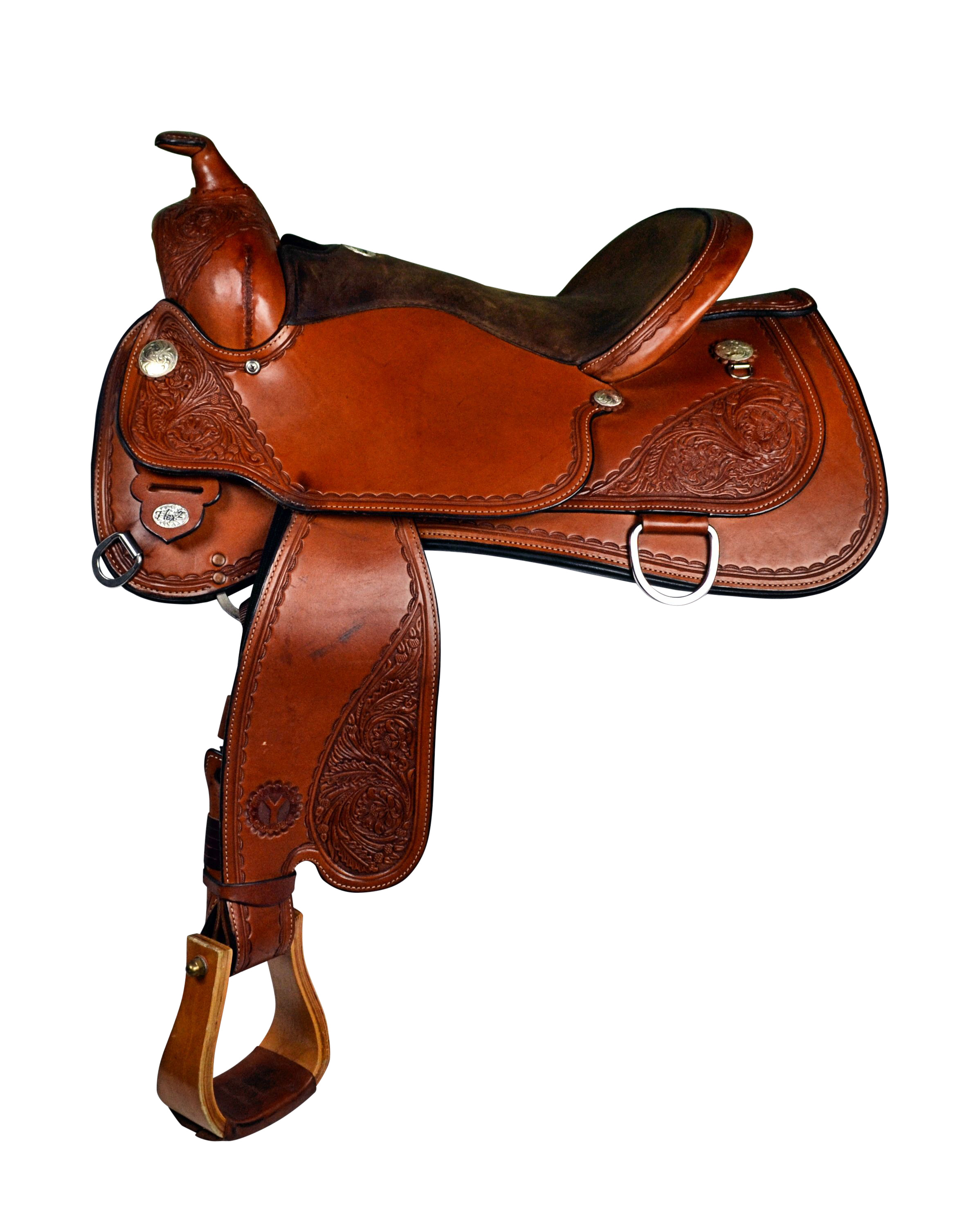 Circle Y Julie Goodnight Sierra Nevada Flex2 Arena Performance Saddle 1560