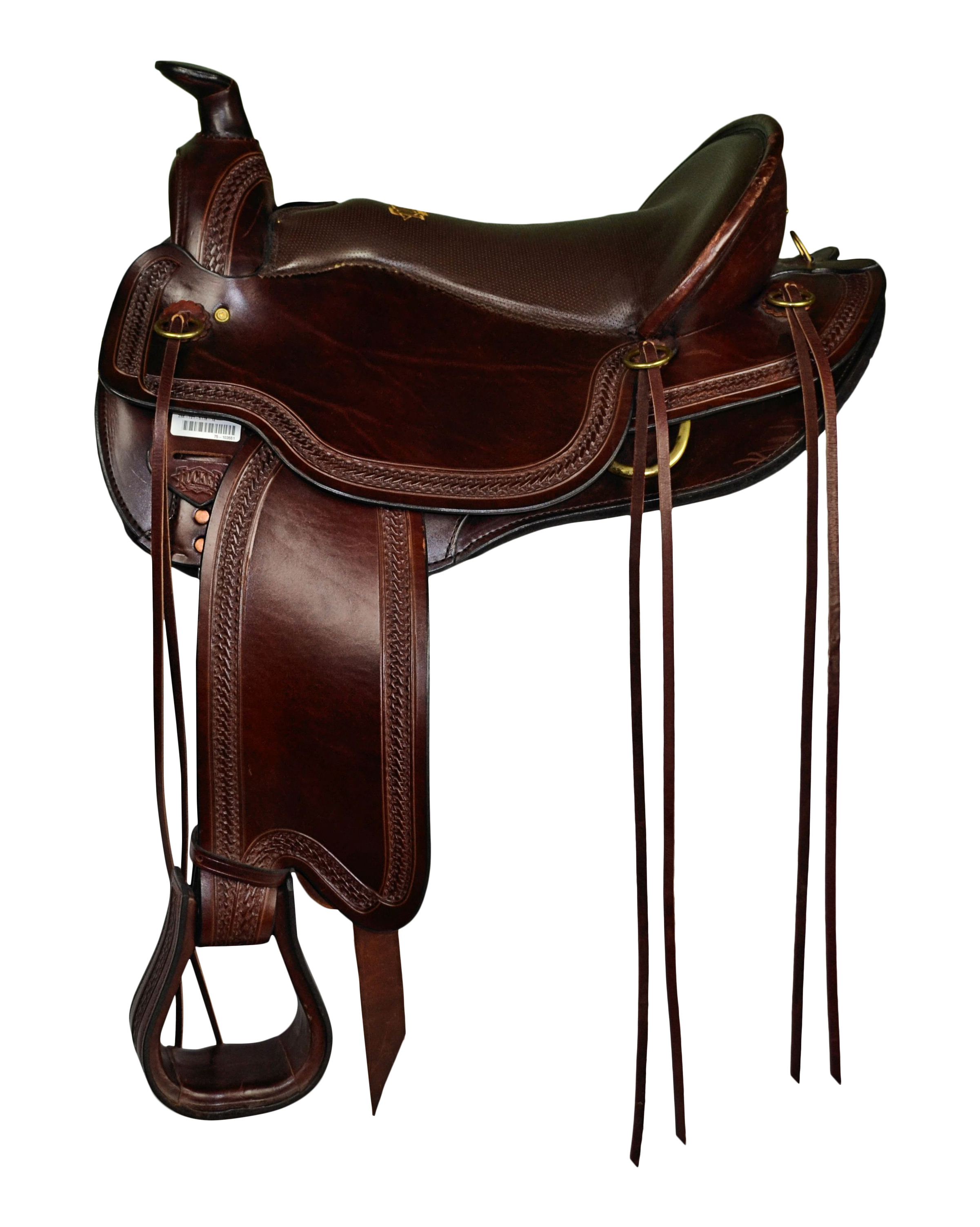 Tucker Gen II South Pass Trail Saddle Tooled