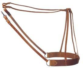 Weaver Heavy-Duty Leather Saddle Britching
