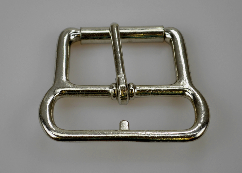 Nickel Plated Roller Girth Buckle