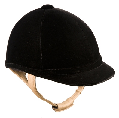 Lami-Cell Competitor Velvet Riding Helmet