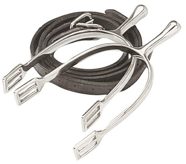 Korsteel Long Neck Dressage Spurs without Straps