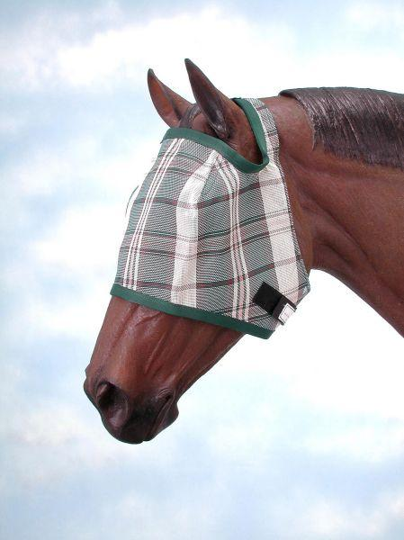 Tough-1 Plaid Mesh Fly Mask
