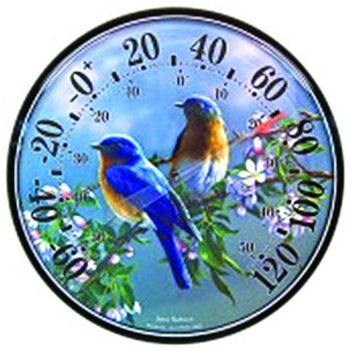 Bluebird Garden Thermometer