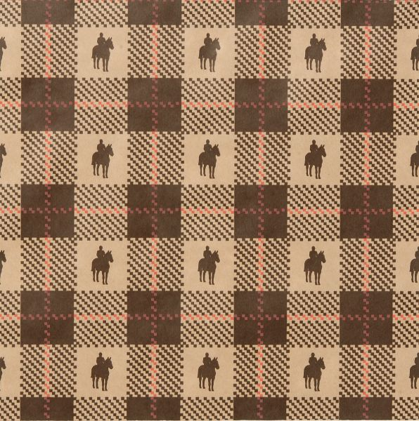 English Plaid Gift Wrap