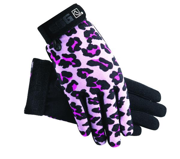 SSG Child's All Weather Gloves - Pink Leopard