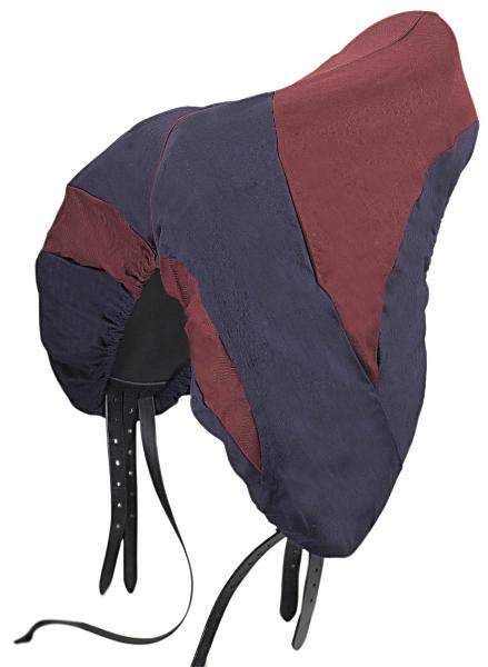 Roma Two Tone Dressage Saddle Cover