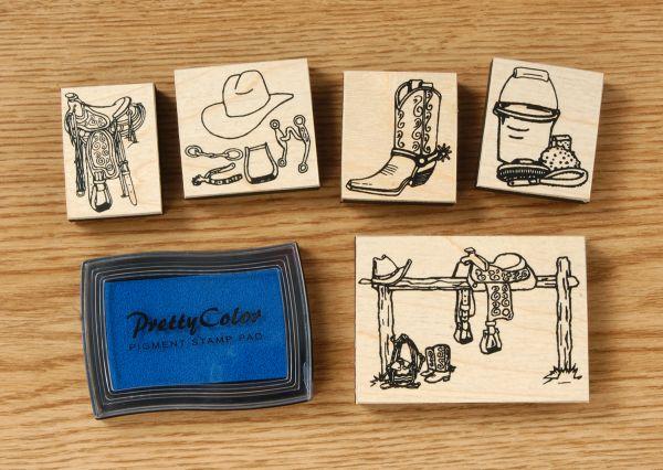 Western Stamp Set
