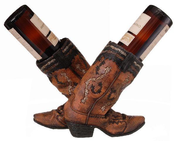 Dbl Wine Holder Boots
