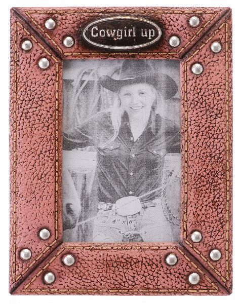 Frame Cowgirl Up 4X6