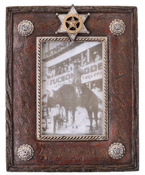 Frame Marshall Badge 4X6