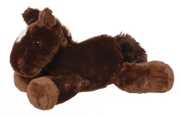 Gift Corral Brown Plush Horse
