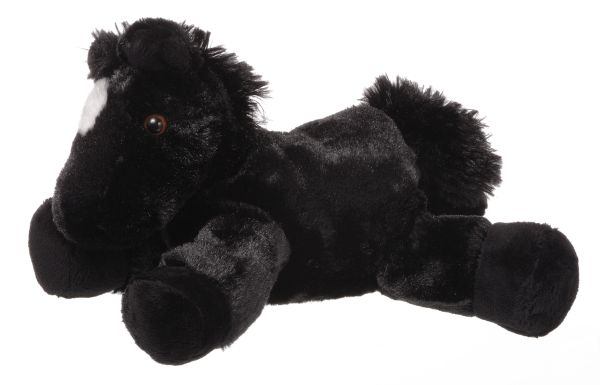 Gift Corral Black Plush Horse