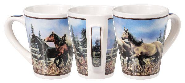 Gift Corral Horse Stroll Mug