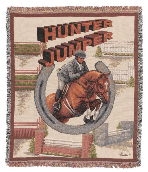 Gift Corral Hunter Jumper Throw