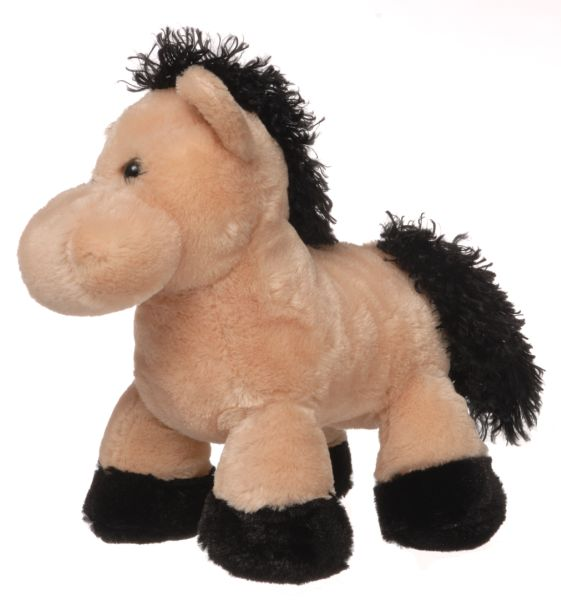Gift Corral Tan Plush Horse