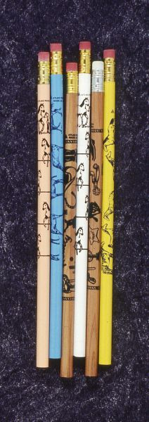6 Pack Horse Pencils