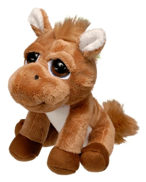 Plush Bright Eyes Horse