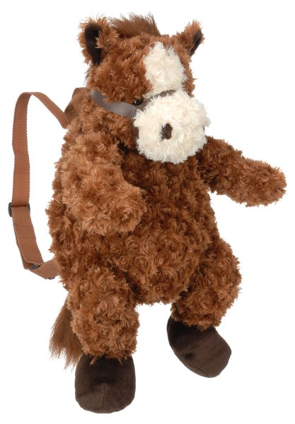 Soft Plush Horse Backpack