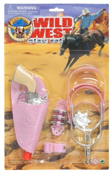 Wild West Pink Play Set