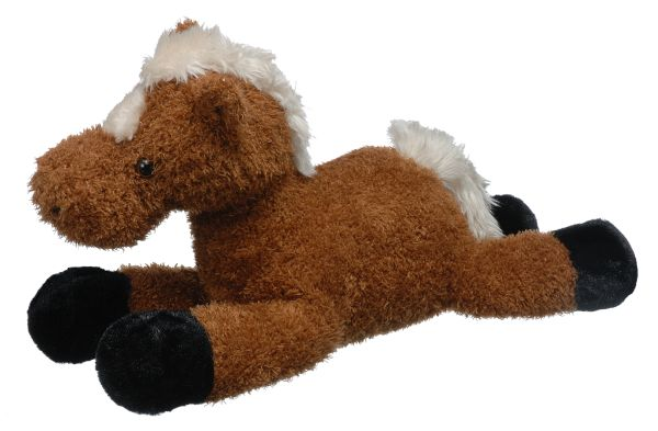 19 Inch Large Plush Laying Horse