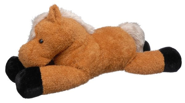 28 Inch X-Large Plush Laying Horse