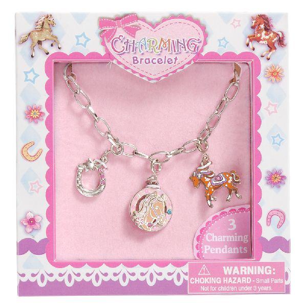 Gift Corral Ponies Charm Bracelet