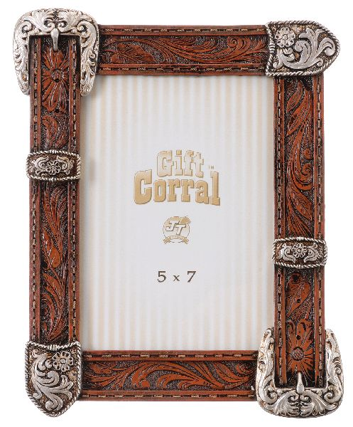 Gift Corral Buckle, Tip & Keeper Frame