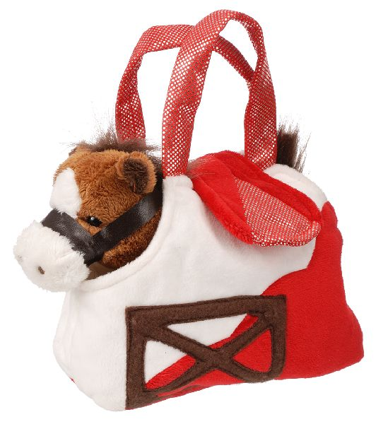 Gift Corral Barn Purse with Horse
