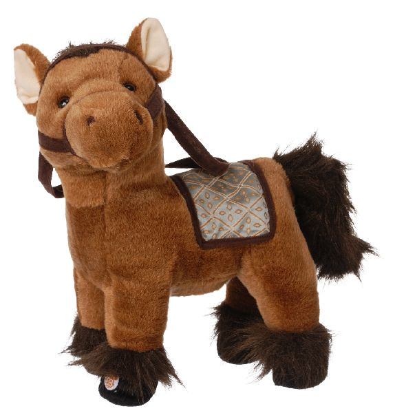 Gift Corral Plush Horse with Saddle