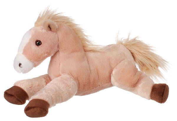 Gift Corral Flopsie Bean Bag Horse - Butterscotch