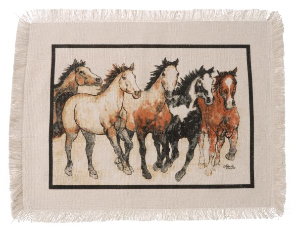 Running Horses Collection Placemat