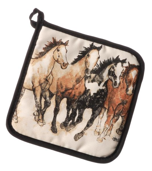 Running Horses Collection Pot Holder