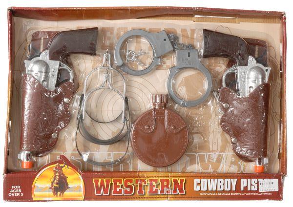 Electronic Western Cowboy Pistol Set